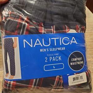 NAUTICA Large Men's  two pack fleece pant